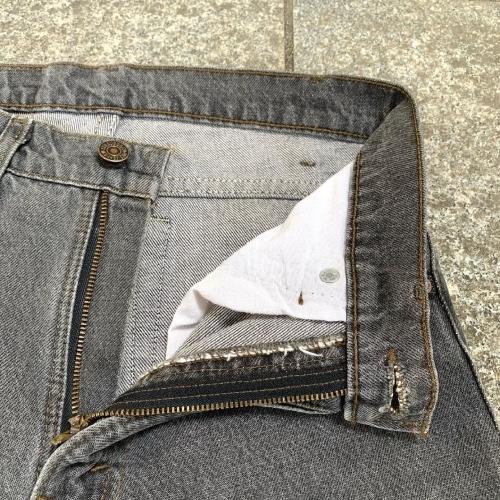 Late 80's~ USmade Levi's  505 Black Jeans _a0182112_12112658.jpg