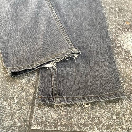 Late 80's~ USmade Levi's  505 Black Jeans _a0182112_12112734.jpg