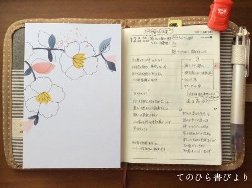 高橋No.8ポケットダイアリー#4/12〜4/18_d0285885_09354870.jpeg