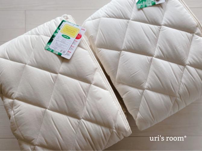 ベッドパッドを新調しました。_a0341288_23550209.jpg