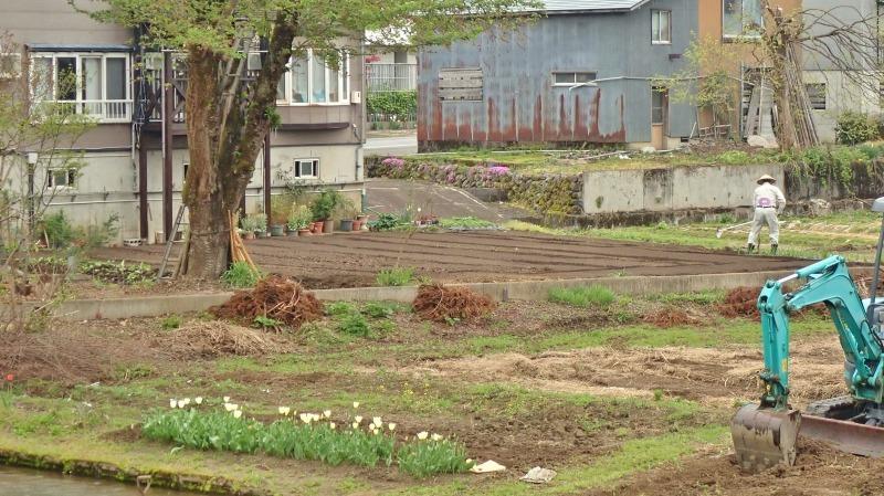 連休最後の兼業農家は最後に残っていた水田の春耕を行いました_c0336902_22090299.jpg