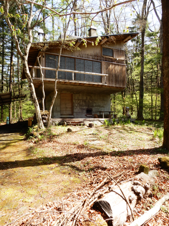 吉村順三の軽井沢の家を見学しました。_c0195909_11132256.jpg
