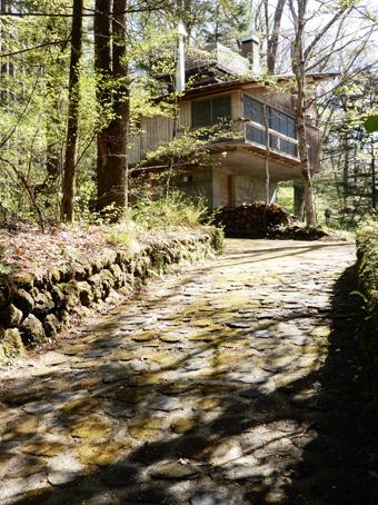 吉村順三の軽井沢の家を見学しました。_c0195909_11133674.jpg