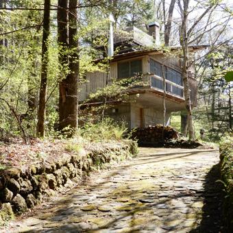 吉村順三の軽井沢の家を見学しました。_c0195909_11134475.jpg