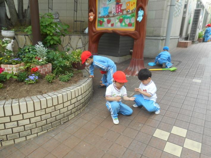 5月12日 朝の登園風景と子どもたち_a0212624_11382847.jpg