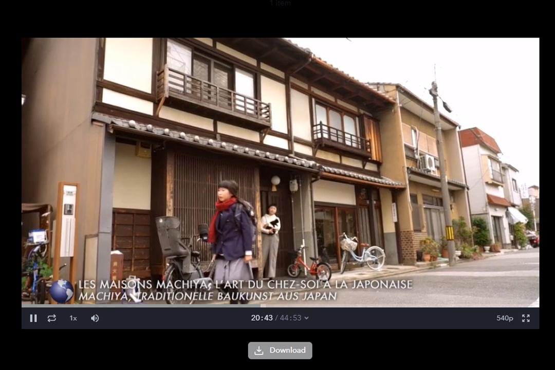 フランスのTV局ARTEにて、わが家の町家暮らしを取り上げていただきました。_d0227246_09431381.jpg