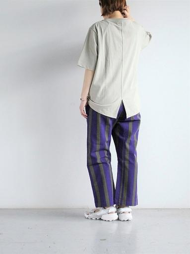 unfil organic cotton back slit tee_b0139281_18550801.jpg
