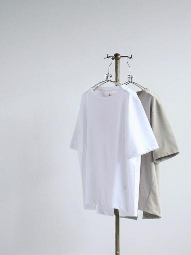 unfil organic cotton back slit tee_b0139281_18550804.jpg