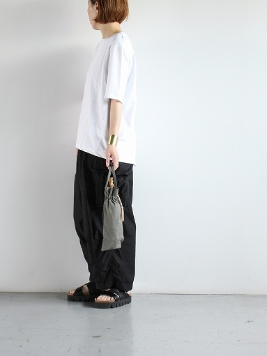 unfil organic cotton back slit tee_b0139281_18550820.jpg