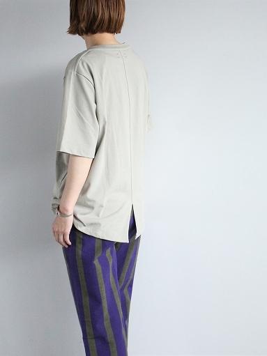 unfil organic cotton back slit tee_b0139281_18550851.jpg