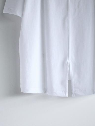unfil organic cotton back slit tee_b0139281_18563803.jpg