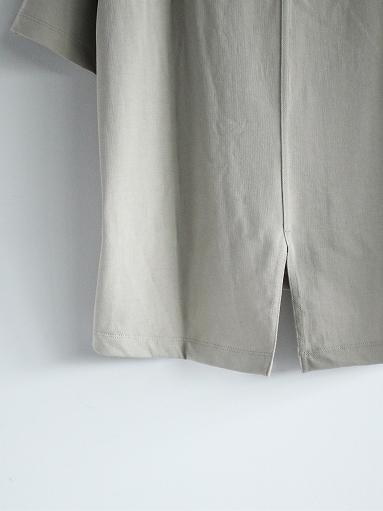 unfil organic cotton back slit tee_b0139281_18563861.jpg