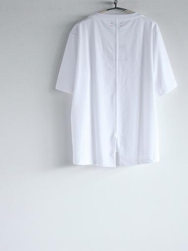 unfil organic cotton back slit tee_b0139281_18563908.jpg