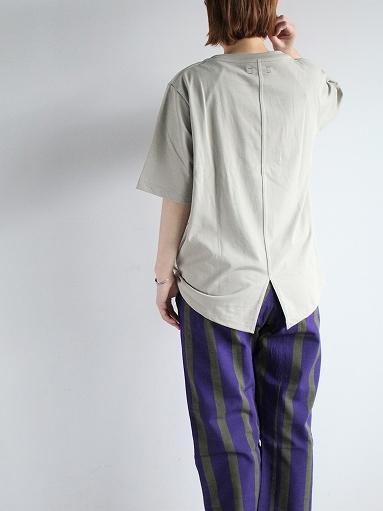 unfil organic cotton back slit tee_b0139281_18563934.jpg