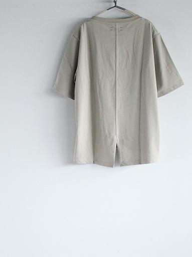 unfil organic cotton back slit tee_b0139281_18563975.jpg