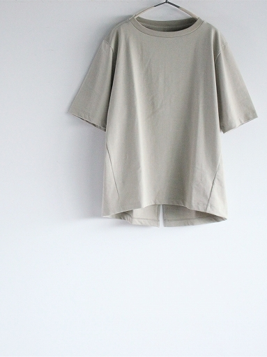 unfil organic cotton back slit tee_b0139281_18563995.jpg