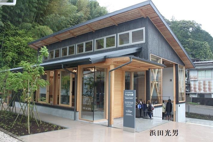 ○ ロ481号客車展示施設「うえまち駅」完成_f0111289_23022849.jpg