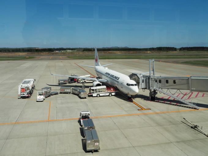 「とかち帯広空港」現在1日4便、飛行機の離発着を見学!_f0276498_23361015.jpg