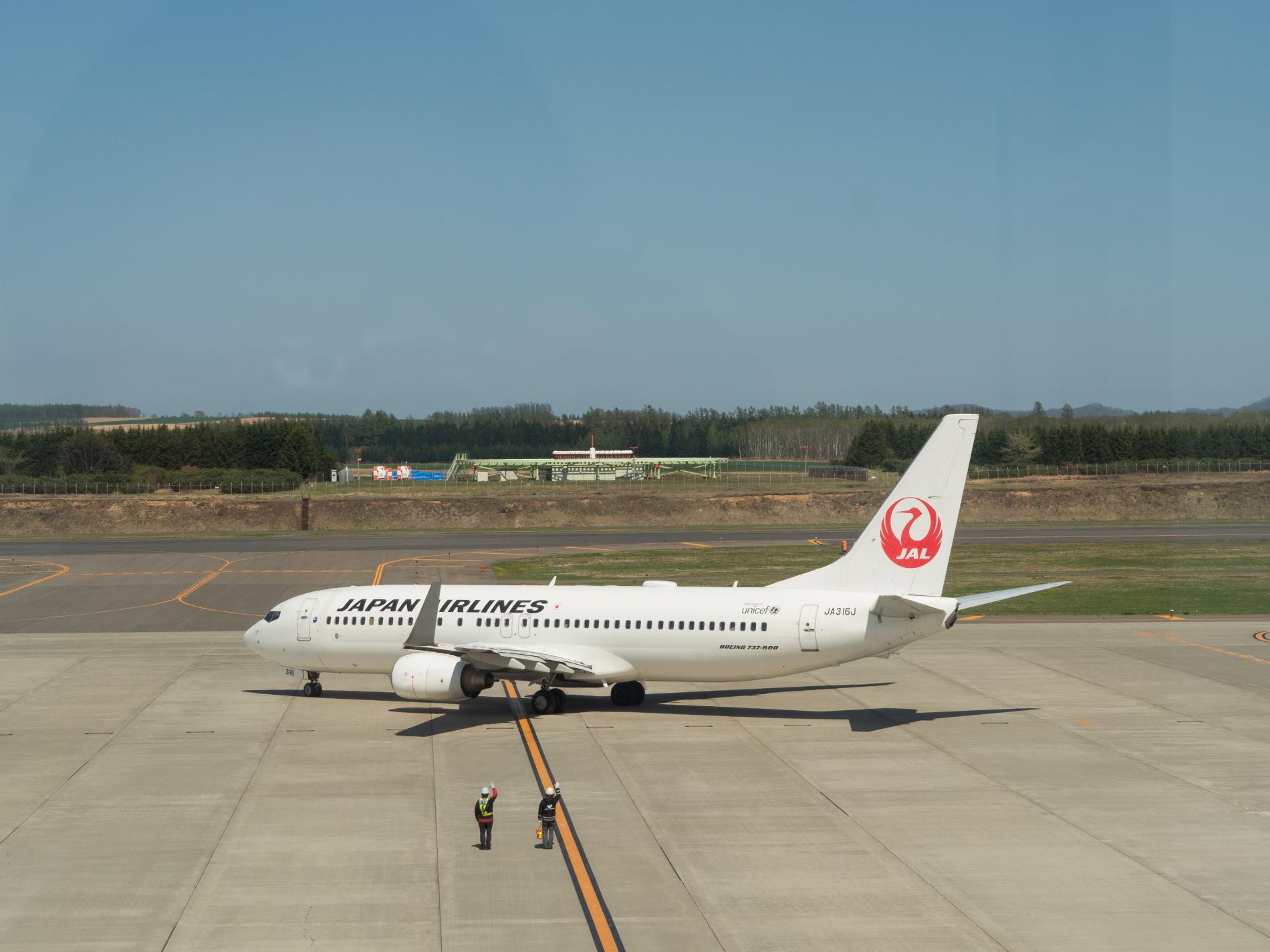 「とかち帯広空港」現在1日4便、飛行機の離発着を見学!_f0276498_23371893.jpg