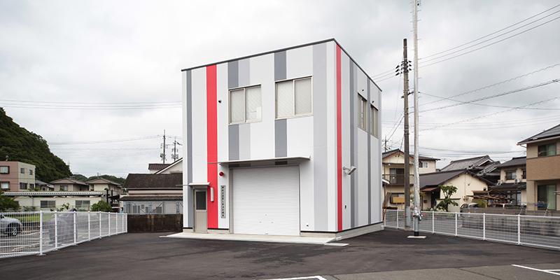 完成建築  消防機庫(神内分団3部)_c0359961_12224035.jpg