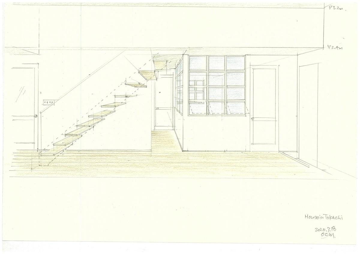 「十勝の家」模型&スケッチ_f0230666_14102253.jpg