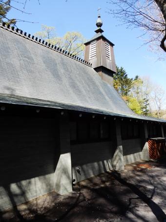 アントニン・レーモンドの.軽井沢・聖ポール教会_c0195909_11280833.jpg