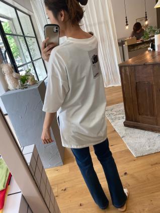 ayane   ワッペンTシャツ_a0246319_14490183.jpg