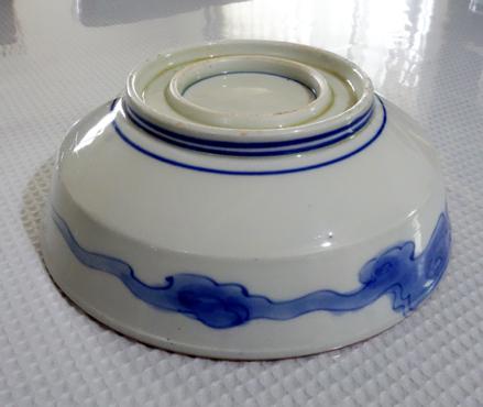 古い大鉢★鰹のたたき_a0383340_21324507.jpg