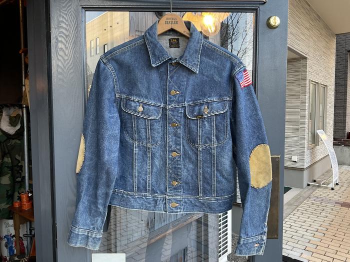~70's Lee 101-J denim jacket (hand painted)_e0343648_23412800.jpeg