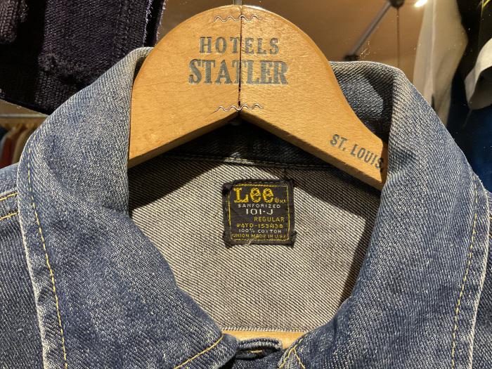 ~70's Lee 101-J denim jacket (hand painted)_e0343648_23483862.jpeg