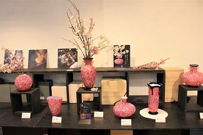 津軽びいどろ企画展「桜色の世界」_d0131668_16165050.jpg