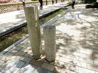 東遊園地にあるもの その7 加納橋のモニュメント_b0051598_19390274.jpg