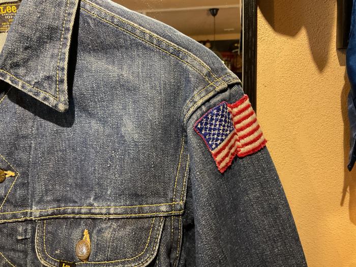 ~70's Lee 101-J denim jacket (hand painted)_e0343648_00014228.jpeg