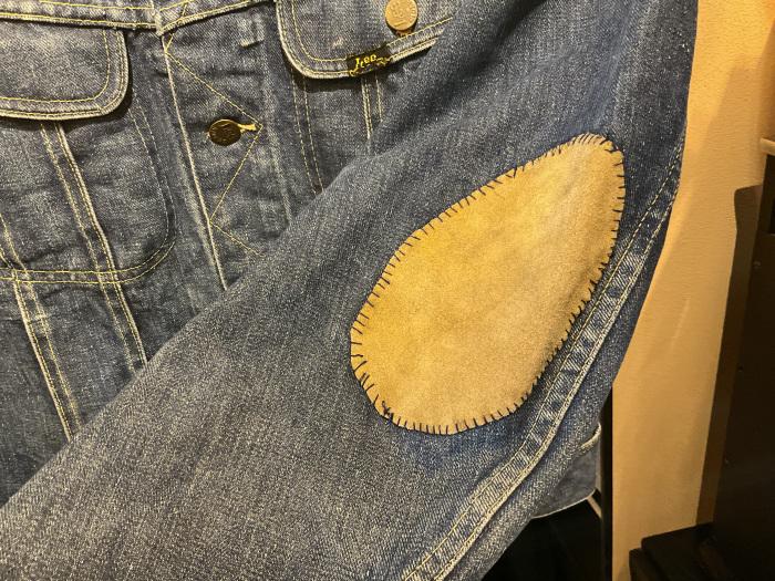 ~70's Lee 101-J denim jacket (hand painted)_e0343648_00021208.jpeg