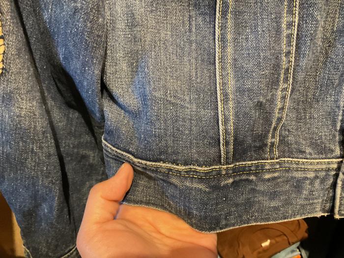 ~70's Lee 101-J denim jacket (hand painted)_e0343648_00043079.jpeg