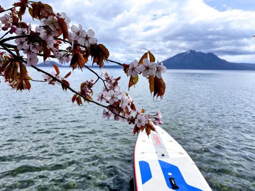 春SUP Vol,2 支笏湖_d0198793_00283633.jpg