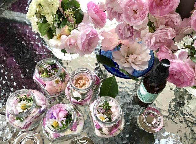 薔薇のお茶会①*2021/5/15_d0085018_15114675.jpeg
