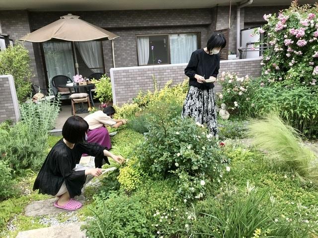 薔薇のお茶会①*2021/5/15_d0085018_15123087.jpeg