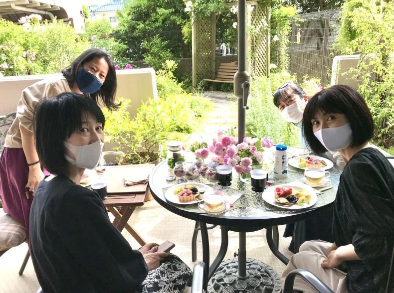 薔薇のお茶会①*2021/5/15_d0085018_15153945.jpeg