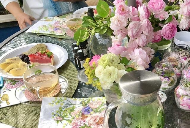 薔薇のお茶会①*2021/5/15_d0085018_15161537.jpeg