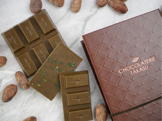 にしおスイーツ特命大使「ショコラトリー タカス」が産み出す[タブレット抹茶ミルク]_c0354841_00432865.jpg