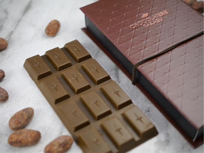 にしおスイーツ特命大使「ショコラトリー タカス」が産み出す[タブレット抹茶ミルク]_c0354841_00433966.jpg