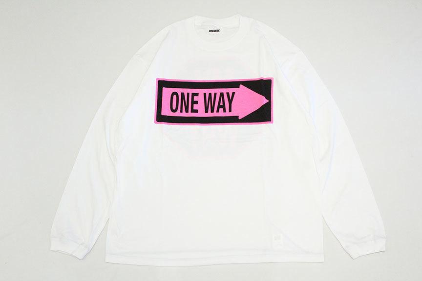 "ONEWAY (ワンウェイ) \"" Sign LOGO L/S TEE \""_b0122806_13264545.jpg"