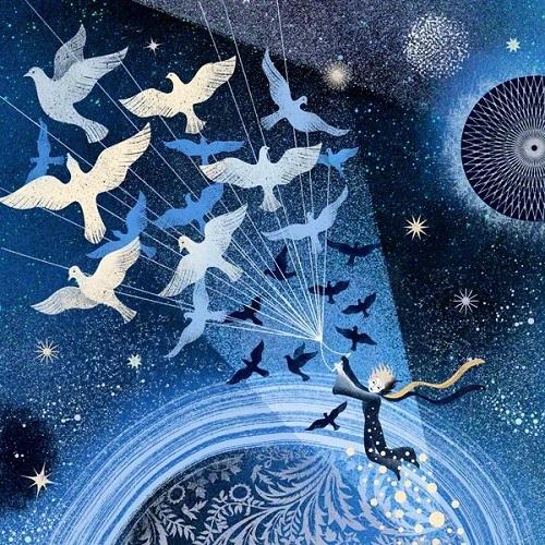 バルブッソ姉妹画:星の王子さま_c0084183_17105016.jpg