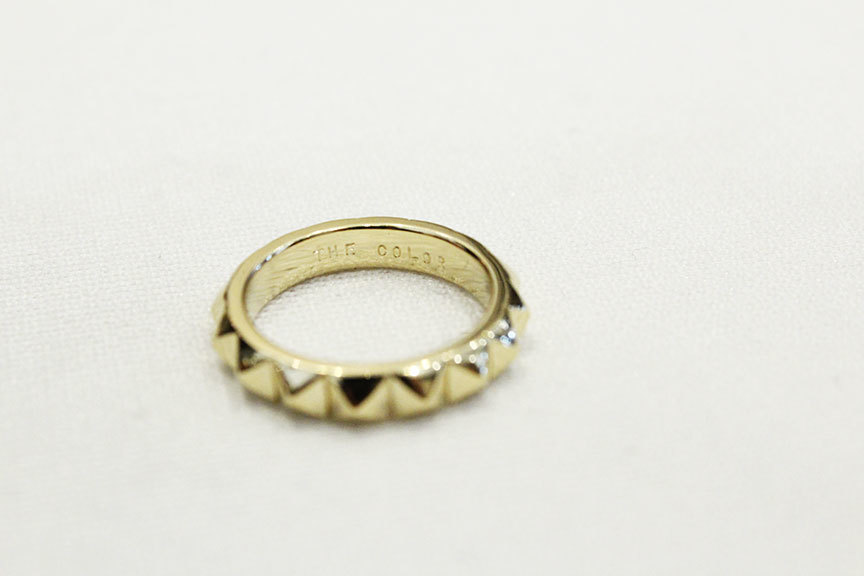 """THE COLOR (ザ・カラー) \"""" STUDS RING \""""_b0122806_14074680.jpg"""