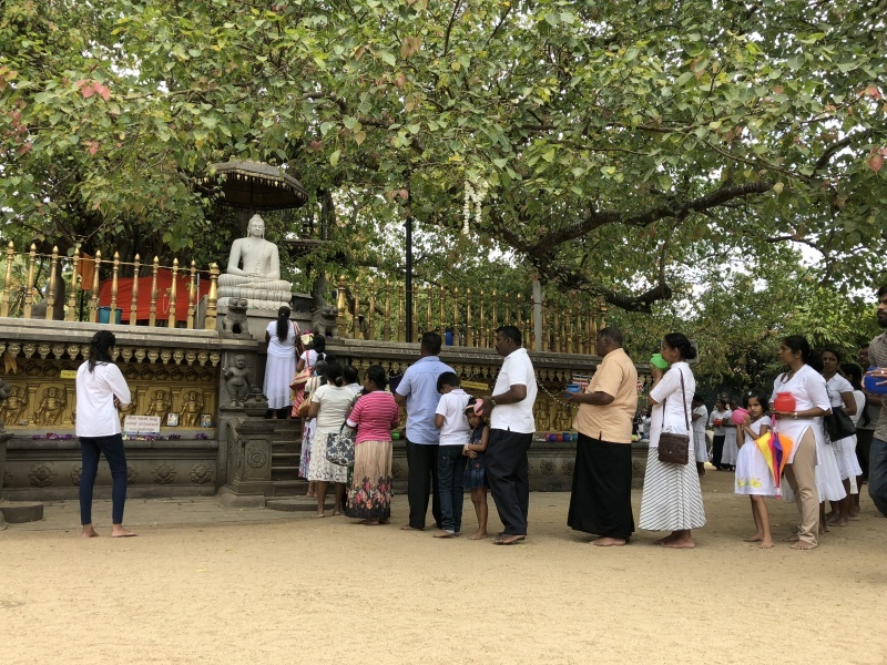 ケラニヤのラジャ・マハ・ヴィハーラ(ケラニヤ ロイヤル寺院)_d0116009_12384197.jpg