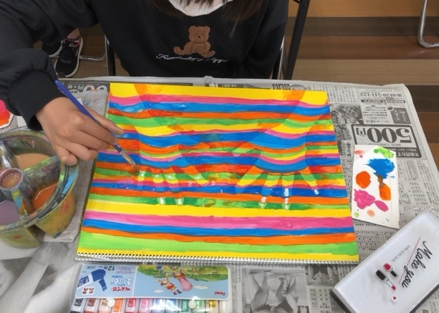 アピタ稲沢、友遊カルチャー、日曜こども絵画教室、1_f0373324_19405445.jpg