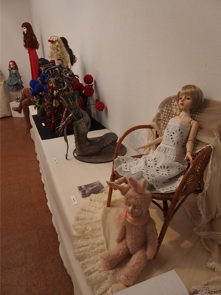 『エコール・ド・シモン同窓生による人形&作品展』開催中_d0079147_16232530.jpg