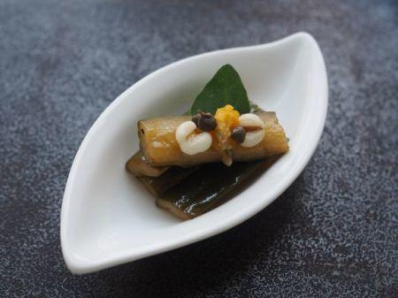 胡瓜の花椒醤油漬け_e0148373_17511696.jpg
