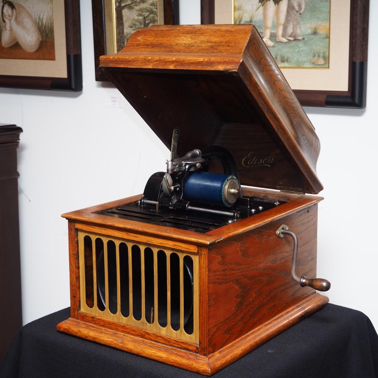 エジソン蓄音機 アンベローラ 30_a0047010_15334750.jpg